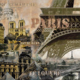 Paris I Print by John Clarke