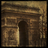 Arc de Triomphe Print by Christopher Bliss