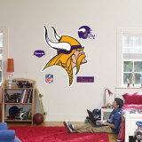 Minnesota Vikings Logo Wall Decal