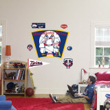 Minnesota Twins Classic Logo Wall Decal