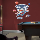Oklahoma City Thunder Logo Wall Decal