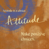 Attitude Print by Linda Woods