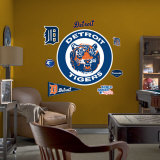 Detroit Tigers Classic Logo Wall Decal
