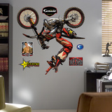 Motocross Brian Deegan Wall Decal Sticker Seinätarra