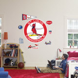 St. Louis Cardinals Classic Logo Wall Decal