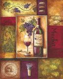 Valley Wine II Posters par Gregory Gorham