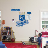 Kansas City Royals Logo Wall Decal