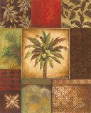 Palm Collage II Plakat af Gregory Gorham
