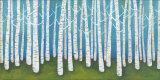Springtime Birches Pôsteres por Lisa Congdon