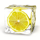 Iced Lemon Poster