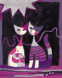 Vita A Due Prints by Rosina Wachtmeister