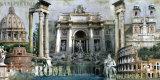 Rome Posters by John Clarke