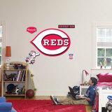 Cincinnati Reds Logo Wall Decal