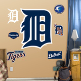 Detroit Tigers D Logo Wall Decal Sticker Wall Decal