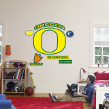 Oregon Ducks Logo Wall Decal
