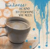 Freundlichkeit Poster von Linda Woods