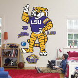 LSU Mascot - Mike The Tiger Wall Decal
