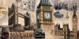 Londres Pósters por John Clarke