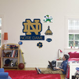 Notre Dame Fighting Irish ND Logo Wallstickers