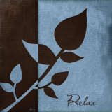 Relax Poster by Jennifer Pugh