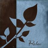 Relax Prints by Jennifer Pugh