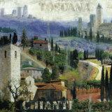 Tuscany I Poster by John Clarke