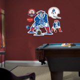 Boston Patriots Original AFL Logo Wall Decal