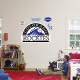 Colorado Rockies Logo Wall Decal
