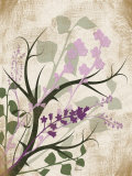 Lavender and Sage Florish I Posters por Jennifer Pugh