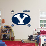 BYU Cougars Logo Wall Decal