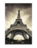 Eiffel Tower Art by Marcin Stawiarz