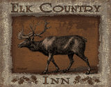 Elk Country Poster by Todd Williams