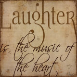 Laughter Art by Kim Klassen