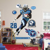Chris Johnson Wall Decal