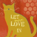 Sweet Poster von Linda Woods