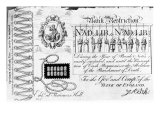 Bank Restriction Note, 1818 Giclee Print by George Cruikshank
