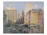 Fifth Avenue, New York, 1913 Giclee Print by Colin Campbell Cooper