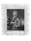 Charles Mordaunt, Earl of Peterborough, engraved by W.T. Fry Giclee Print by Michael Dahl