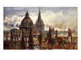 Oxford, from the Sheldonian Theatre, 1903 Giclee Print by John Fulleylove
