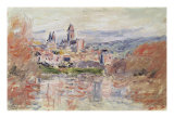 The Village of Vetheuil, c.1881 Giclee Print by Claude Monet