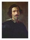 Self Portrait Giclée-tryk af Bernini, Giovanni Lorenzo
