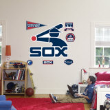 Chicago White Sox Classic Logo Wall Decal