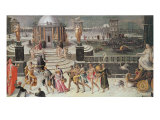 Triumph of Winter Giclee Print by Antoine Caron