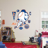 New York Mets Classic Logo Wall Decal