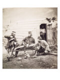 Hardships in the Camp Giclee Print by Roger Fenton