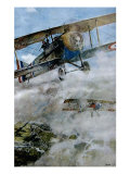Spads Patrolling, 1918 Giclee Print by Francois Flameng