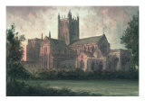 Wells Cathedral: View from the Southeast Giclee Print by Paul Braddon