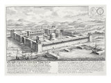 Palace of Diocletian Giclee Print by Johann Bernhard Fischer Von Erlach