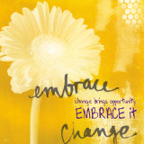 Embrace Posters by Linda Woods