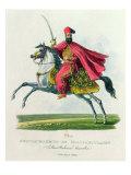 Sultan Mahmud II Giclee Print by Eduard Gurk